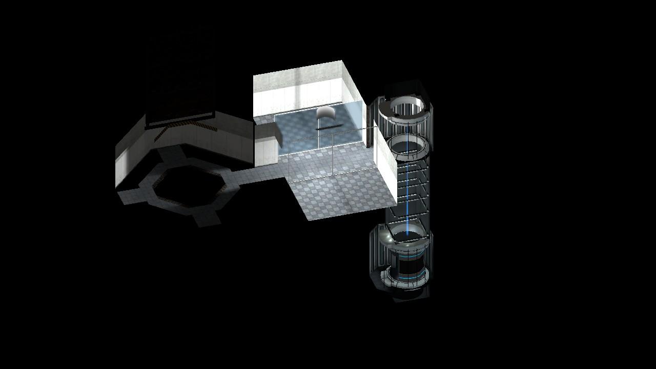 Final test chamber layout