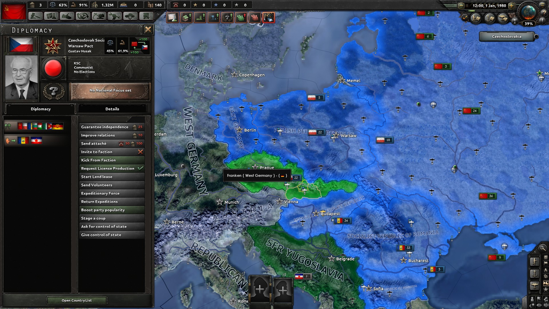 Image 5 - Red Dawn Modification for Hearts of Iron IV - Mod DB