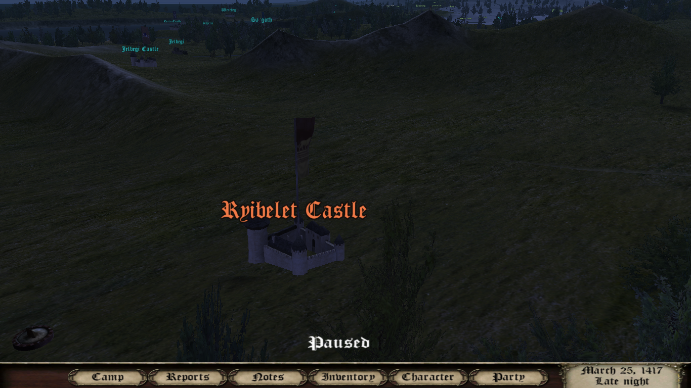 New Town And Castle Icons Image Calradia 1417 Mod For Mount