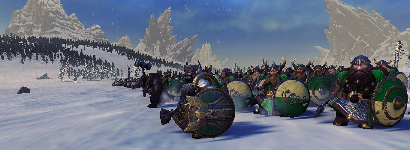 Cataph's Kraka Drak: The Norse Dwarfs 2 0 mod for Total War