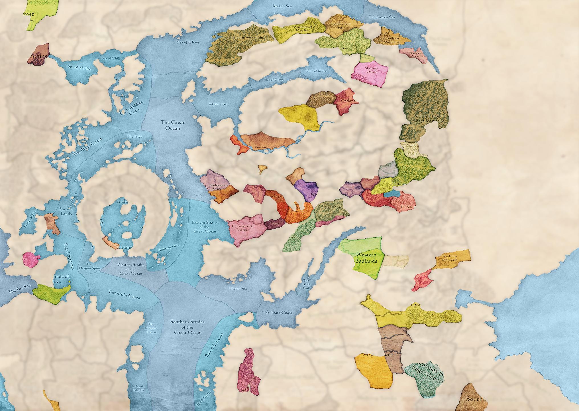 Grand Campaign Custom Maps mod for Total War: Warhammer II
