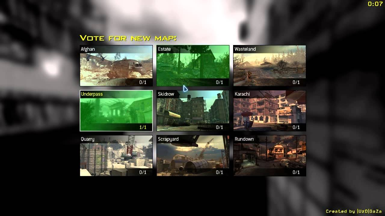 maxresdefault 4 image - Map Voting Menu Mod for Call of Duty: Modern