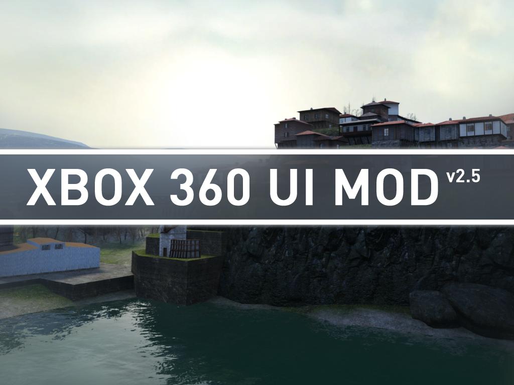 XBOX 360 UI MOD for Half-Life 2 - Mod DB