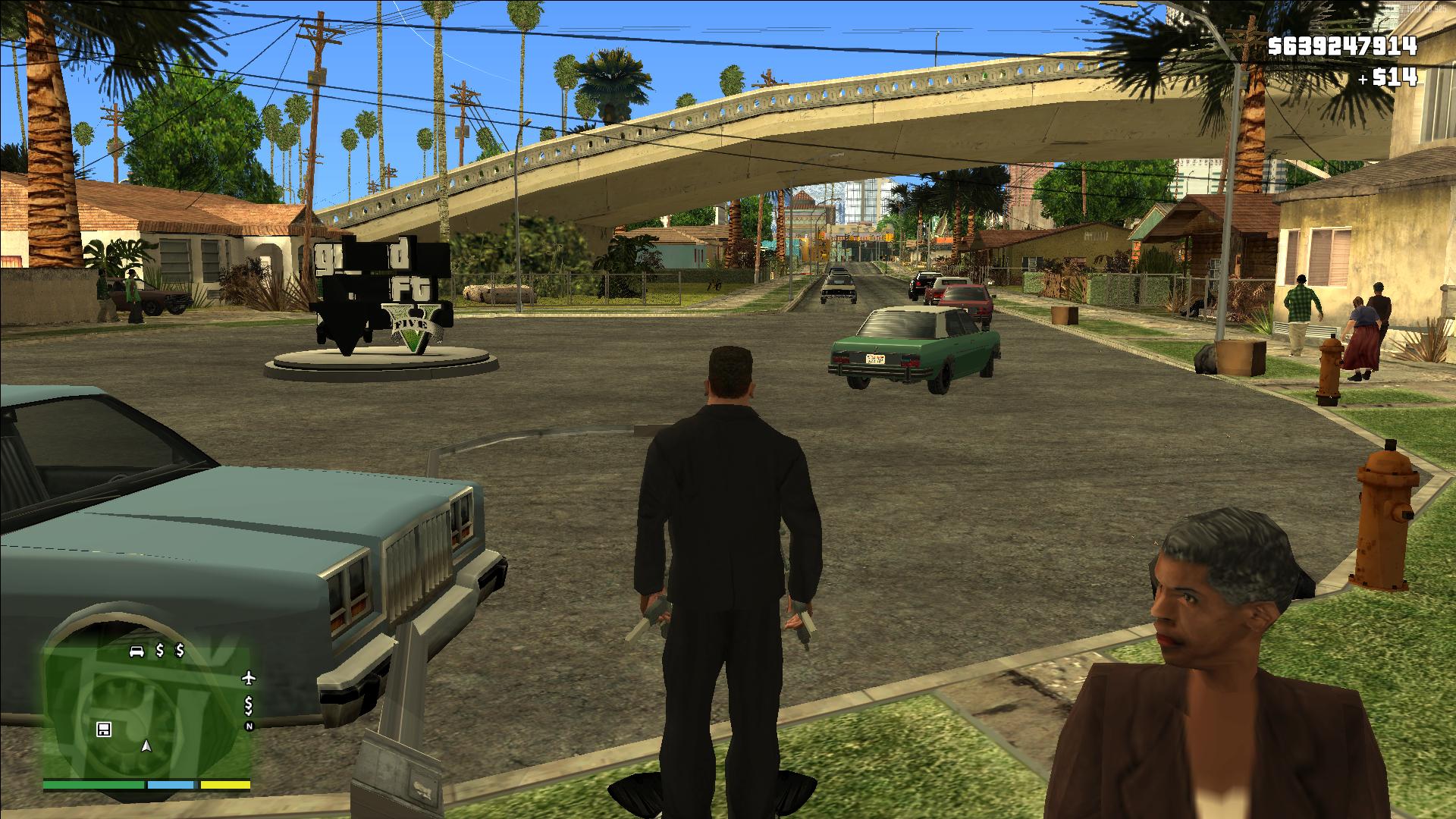 a1a00ae8860 Grand Theft Auto V  San Andreas V1.0.1 Screenshot 1 image - Mod DB