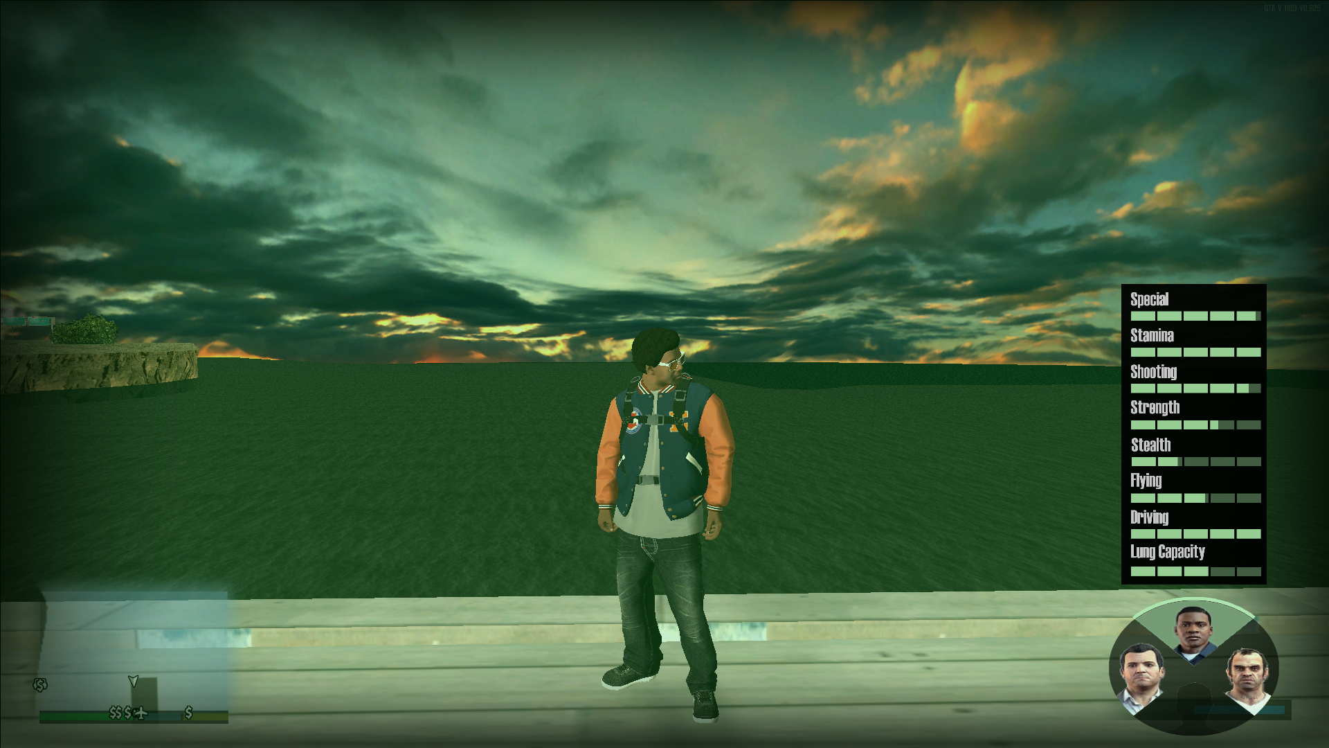 New Character Switch image - GTA V San Andreas mod for Grand Theft