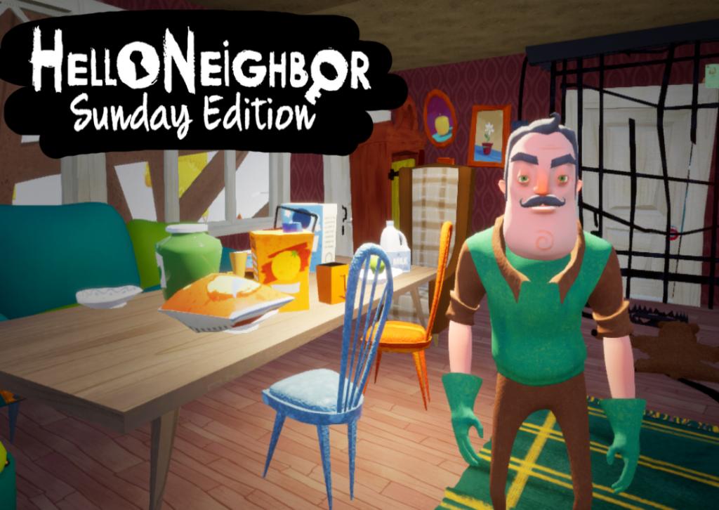 Hello Neighbor Sunday Edition Mod Mod Db