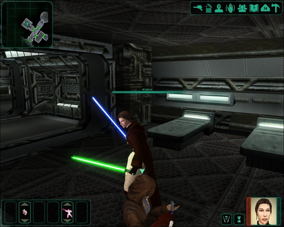 Movie-Style Lightsaber Retextures mod for Star Wars: Knights of the