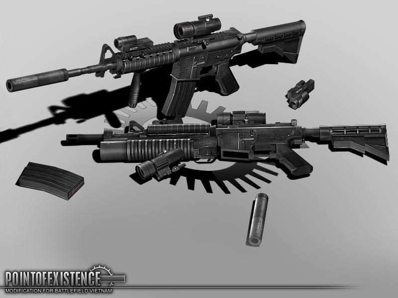 The gallery for --> M4a1 Assault Rifle Real