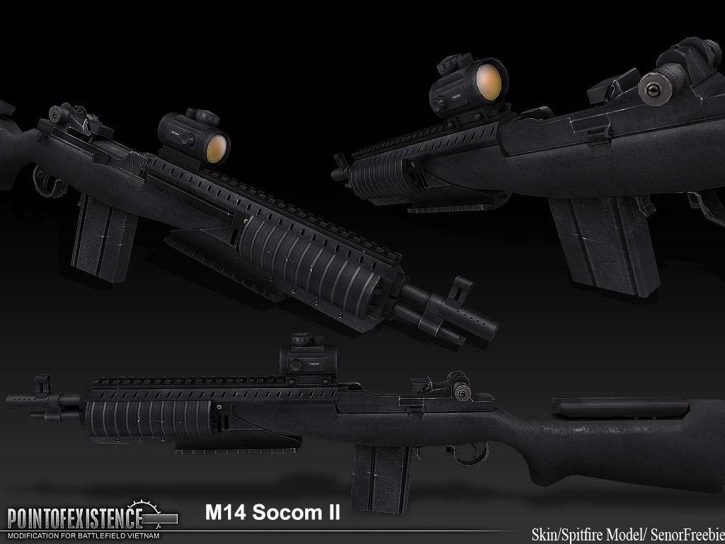 original   M14 Socom II  M14 Socom 2
