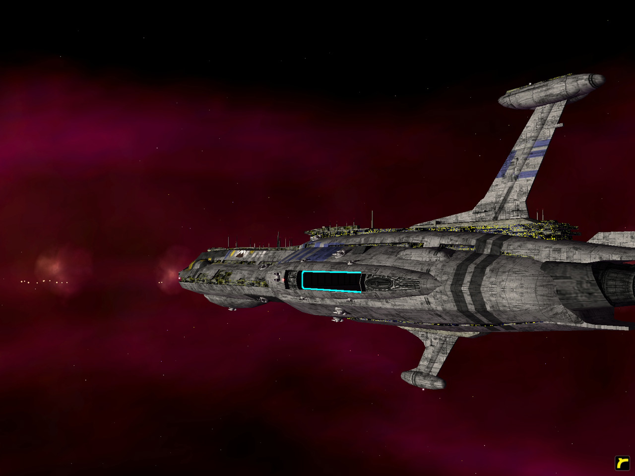 Providence Cruiser Image Star Wars Warlords Mod For Homeworld 2