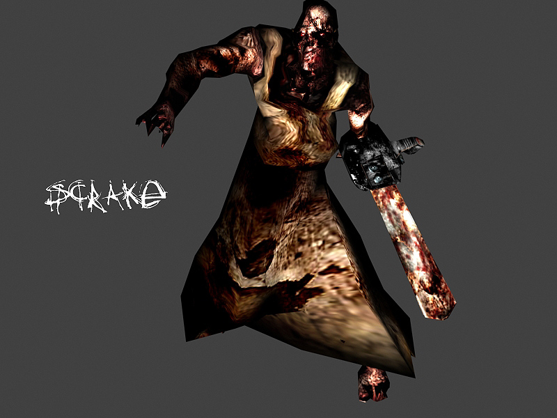 Scrake Chainsaw Zombie Image Killing Floor Mod For