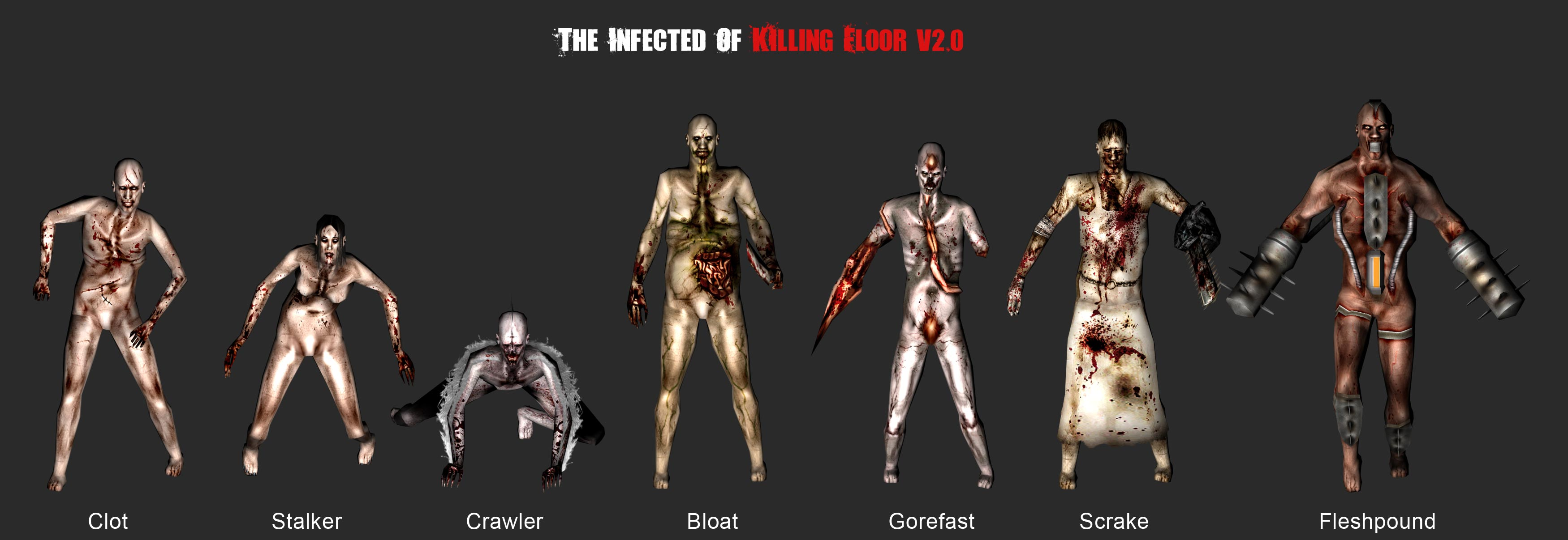 the re made infected for kfv2 0 image killing floor mod