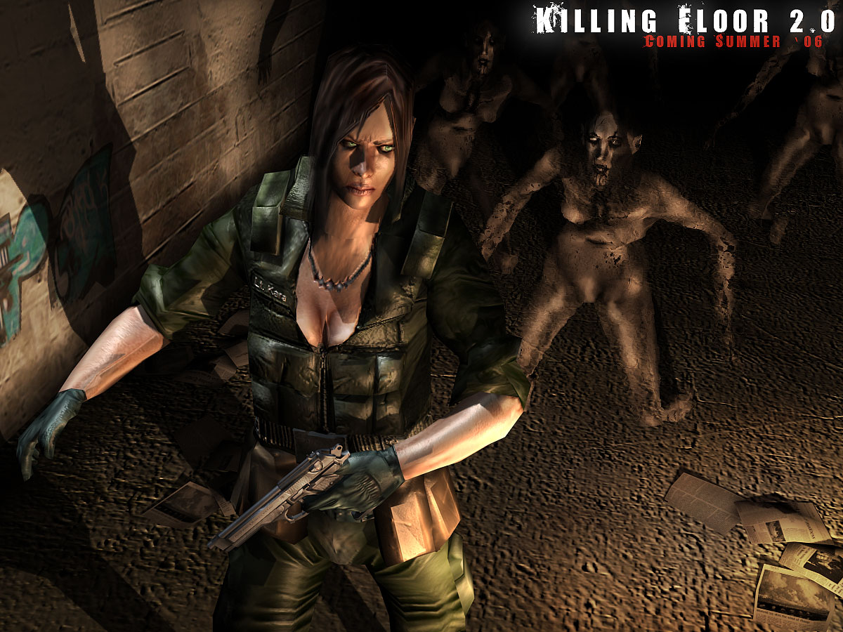 2 0 Wallpaper 1 Image Killing Floor Mod For Unreal