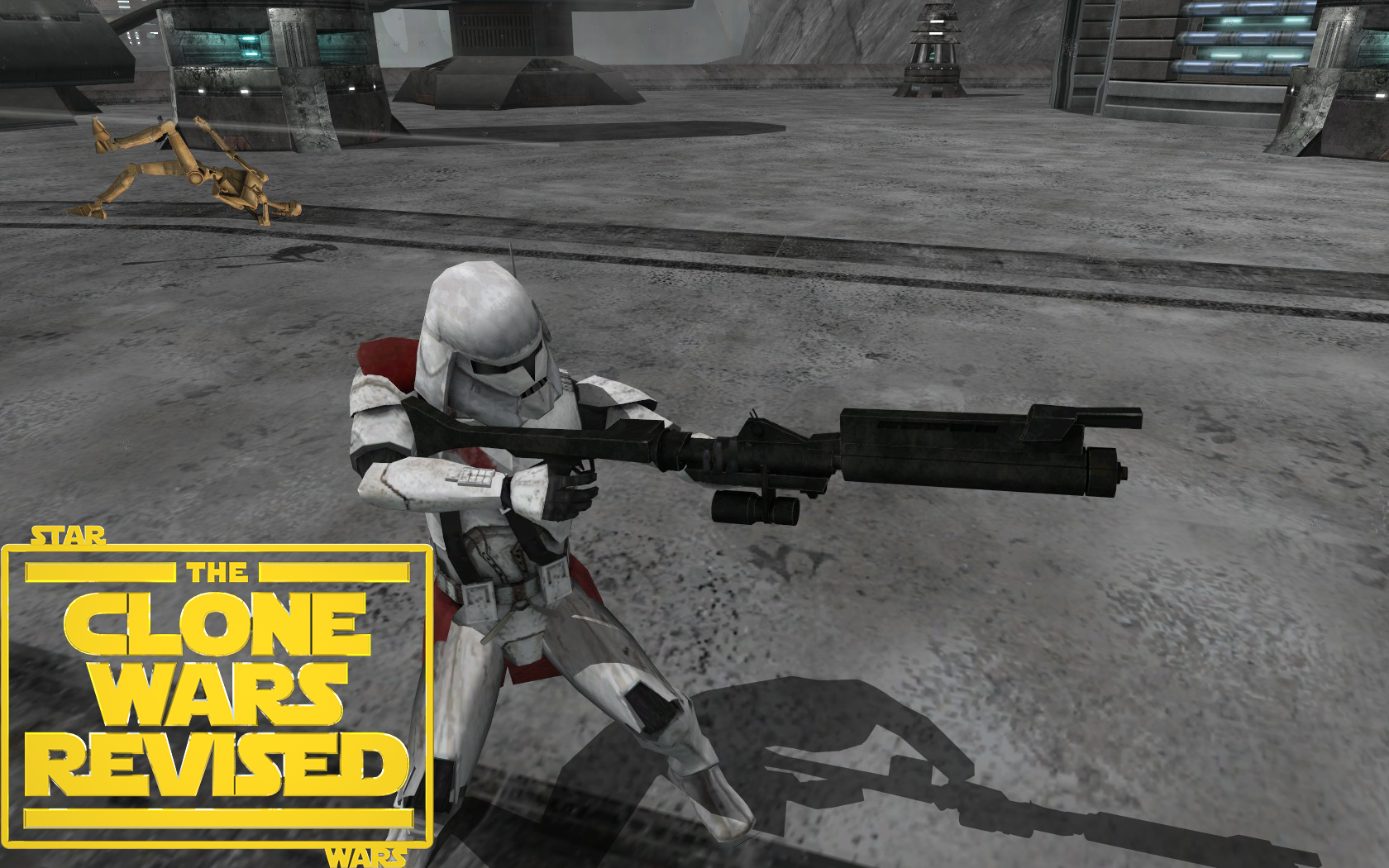 New DC 15A Blaster Rifle image The Clone Wars Revised