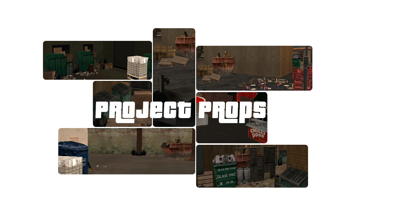 GTA SA Project Props mod for Grand Theft Auto: San Andreas - Mod DB