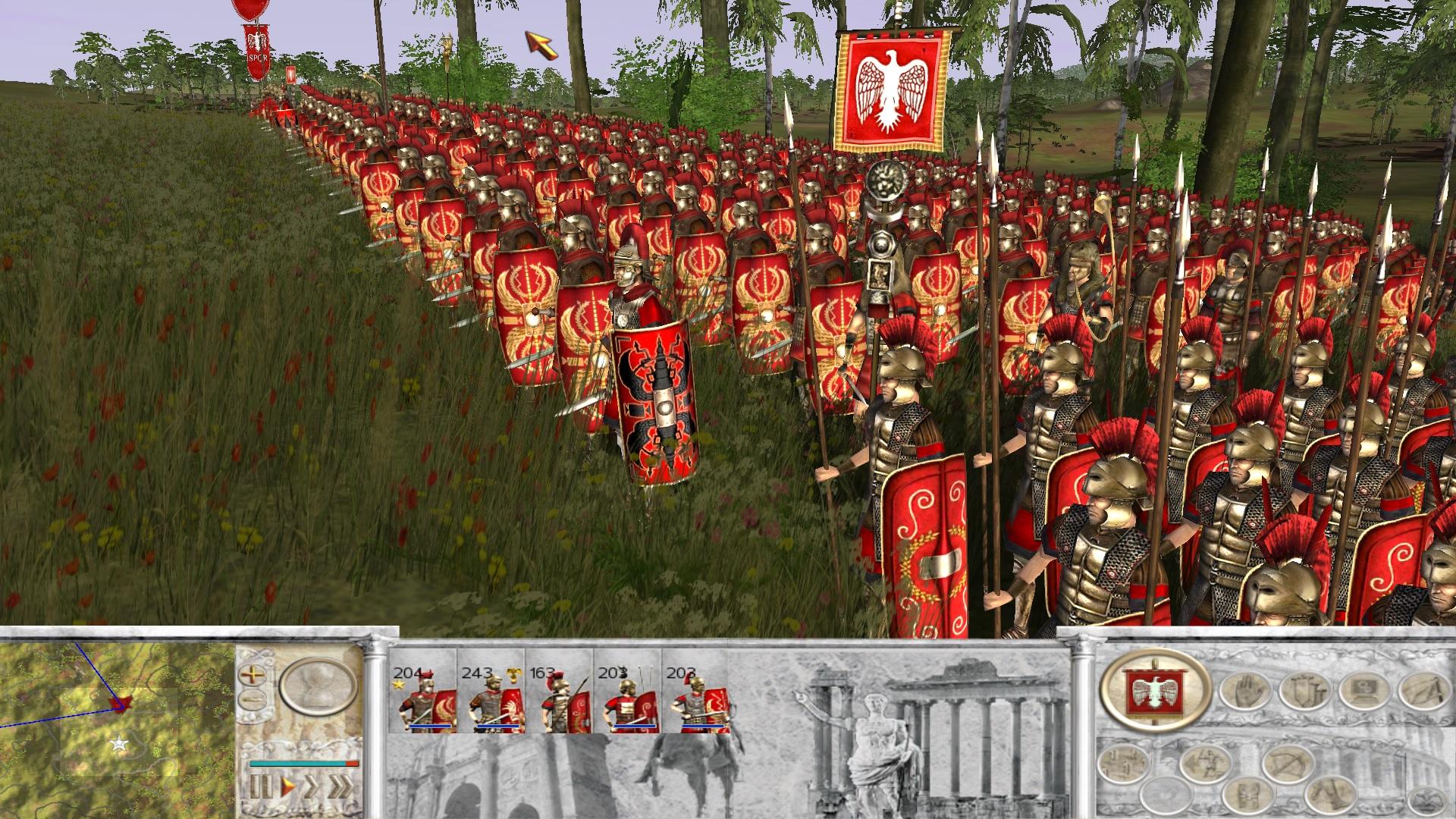 New roman units look