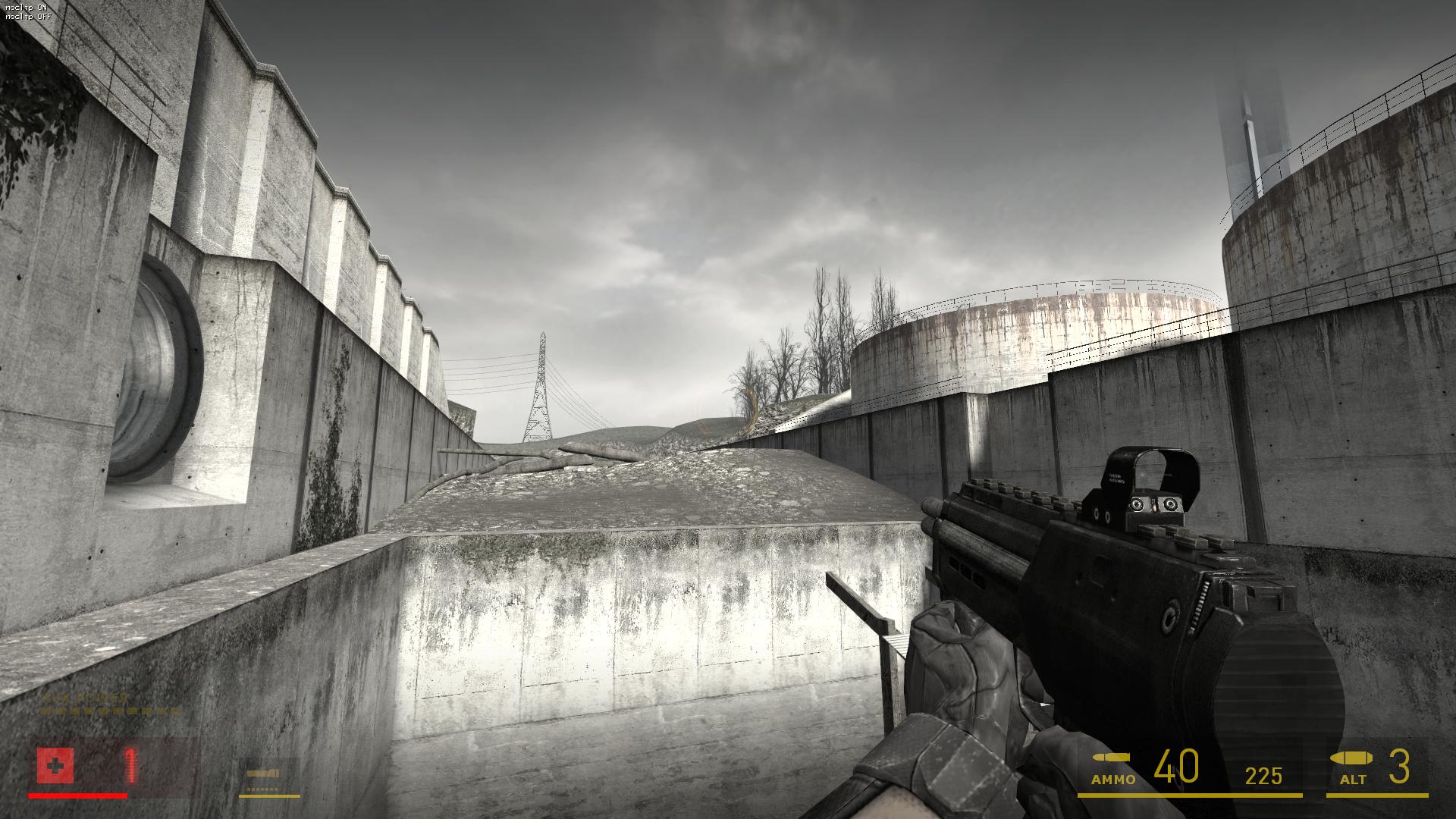 Grayscale - Water Hazard image - Half-Life 2: Plus mod for