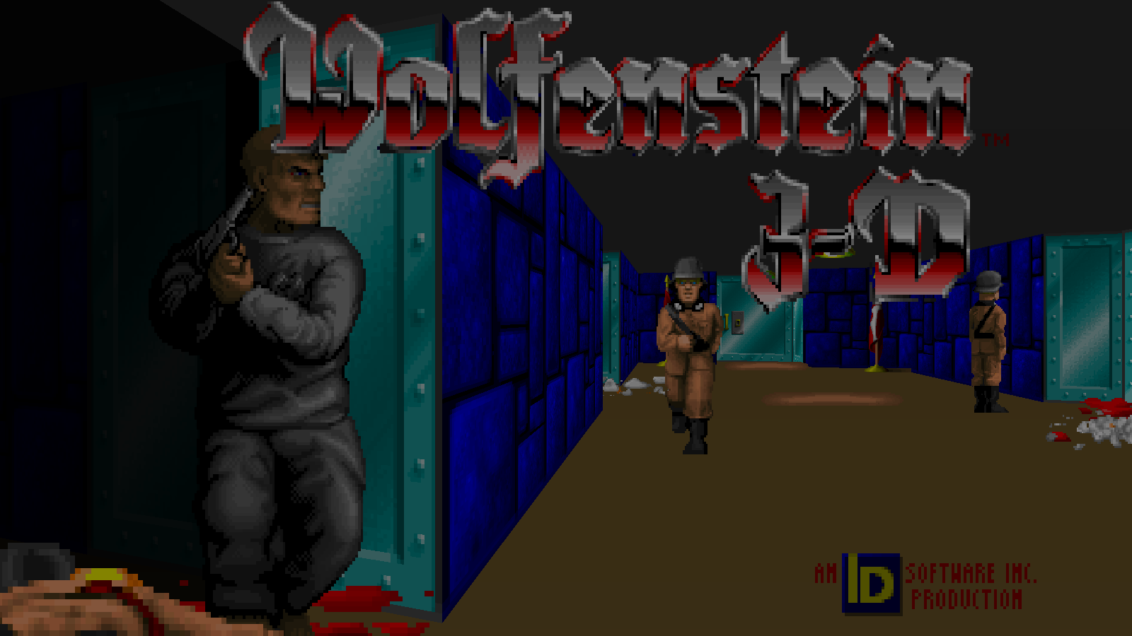 Wolfenstein 3D JaguarPC mod for Doom II - Mod DB