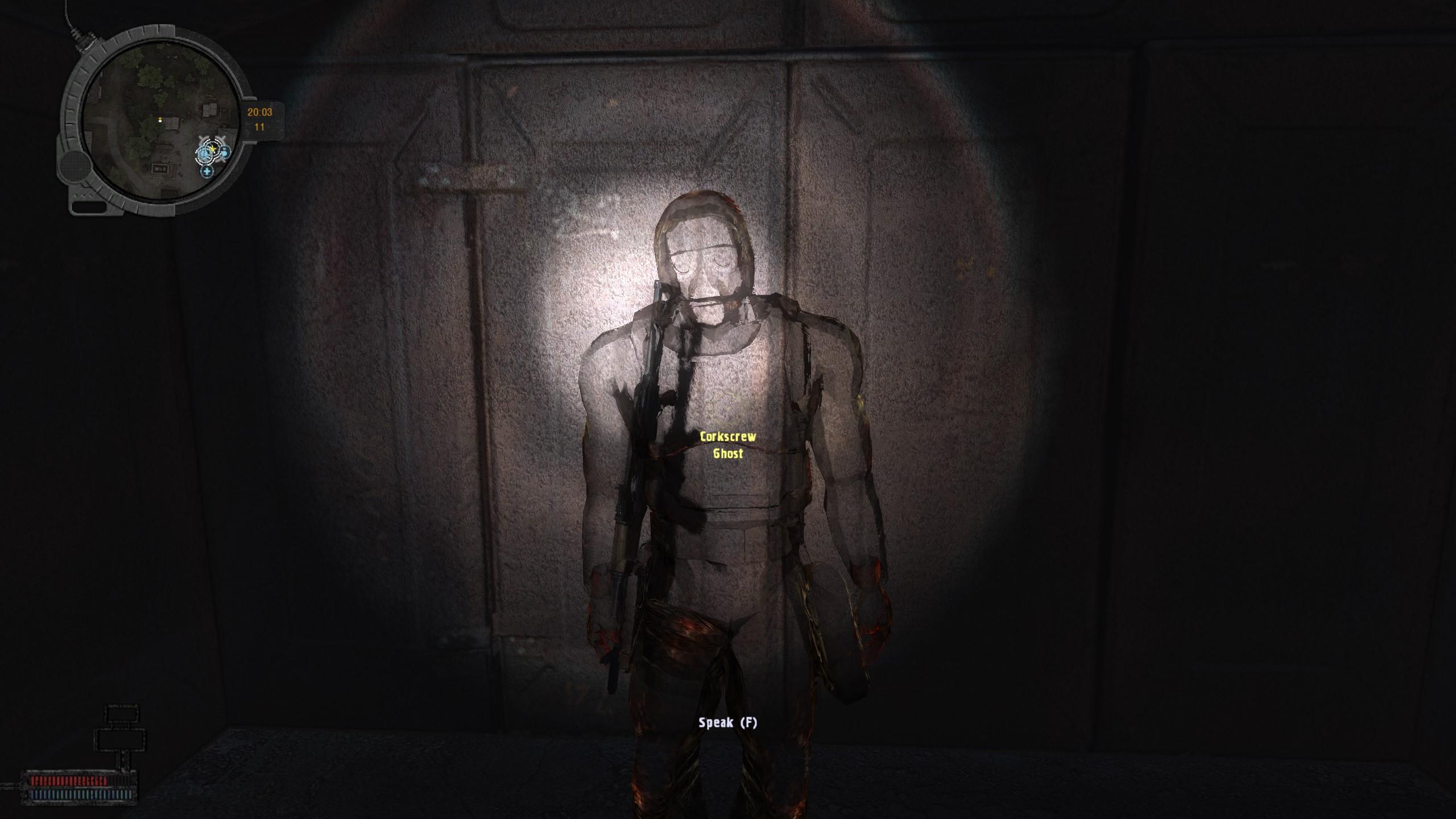 картинка призрака в сталкере минимизировать риск попадания