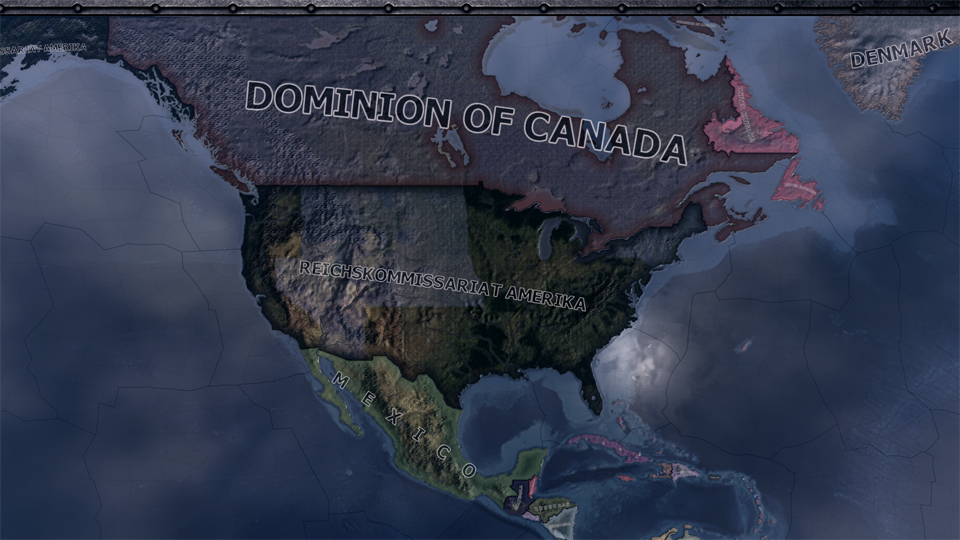 America Puppet Of Japan And German Reich mod for Hearts of Iron IV