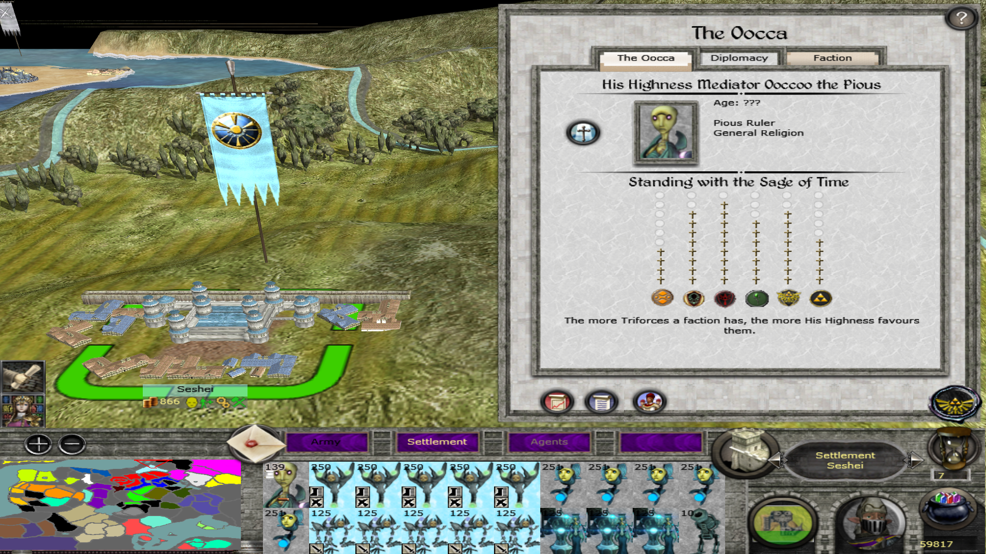 Oocca Faction Now Properly Implemented To The Campaign