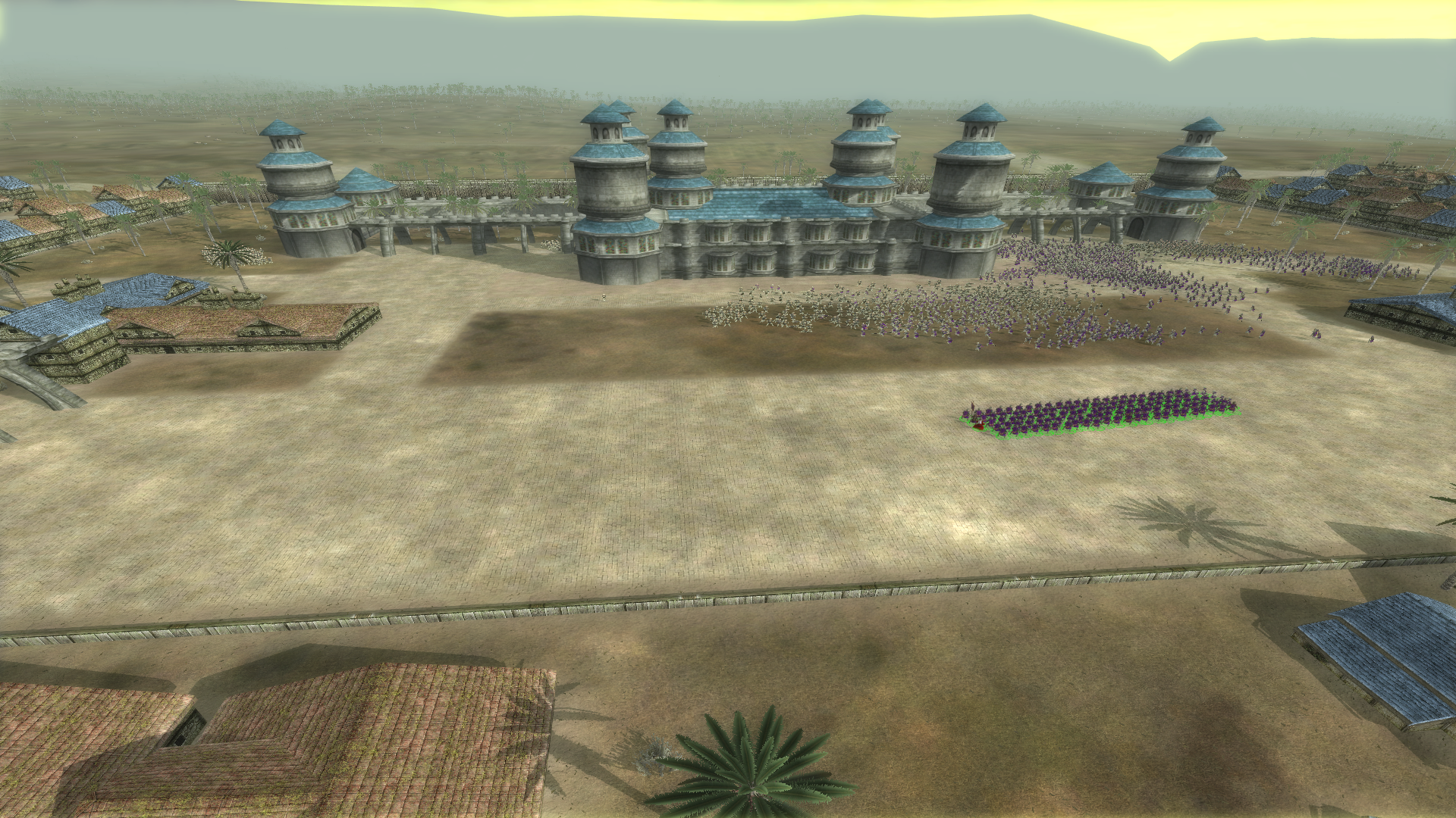 Malkariko Hylian generic custom settlement has a new plaza!