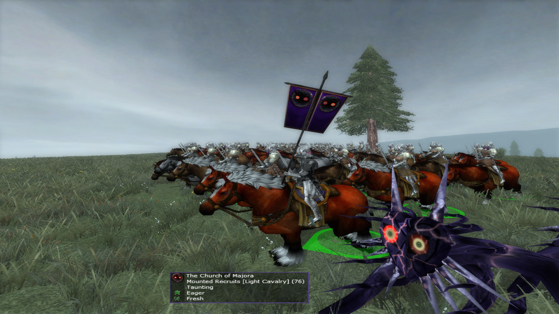 Mounted Recruits silver surfer horse for Majora fixed!