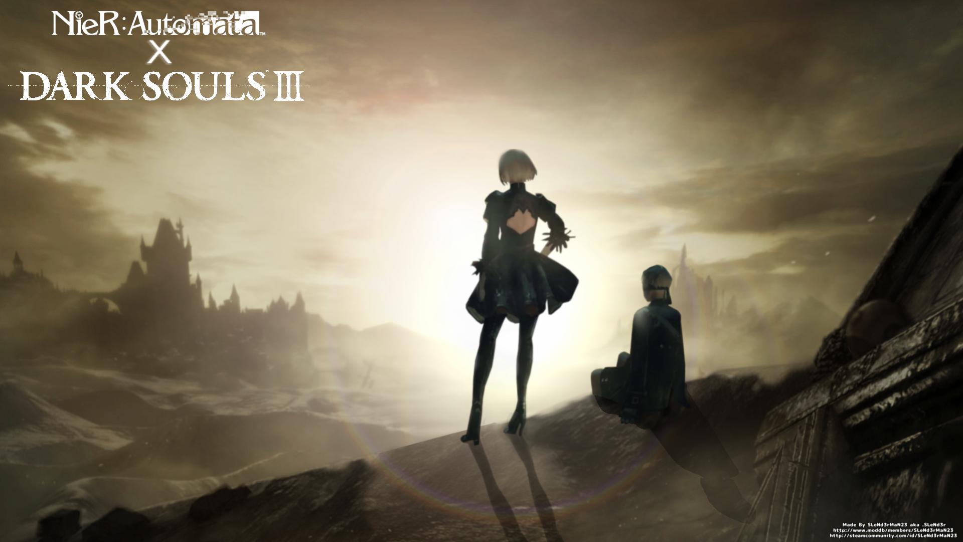 Nier Automata X Dark Souls Iii Music Replacement Mod Mod Db