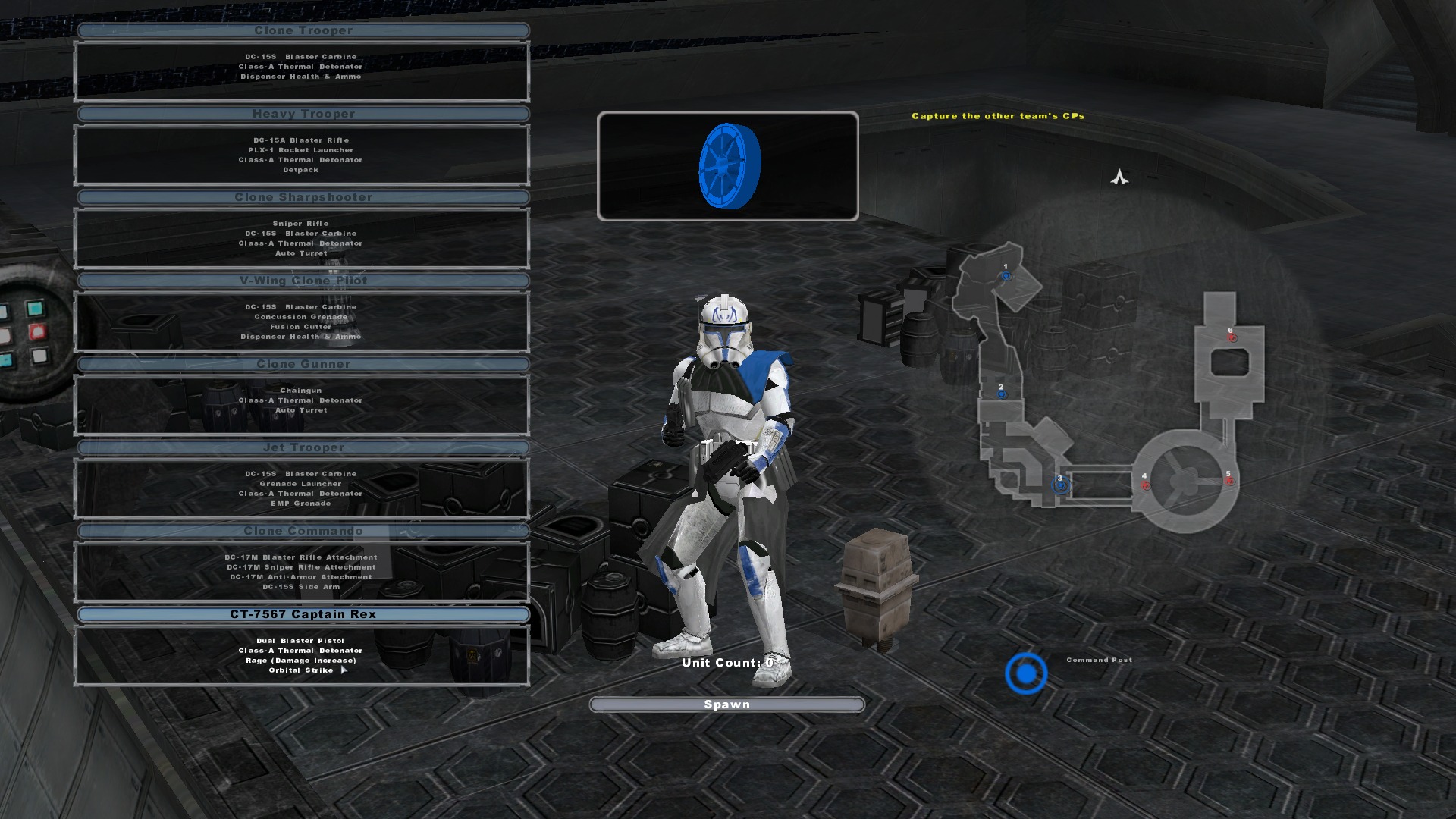 Captain Rex 2 0 Image Star Wars Battlefront 2 Legends Reboot
