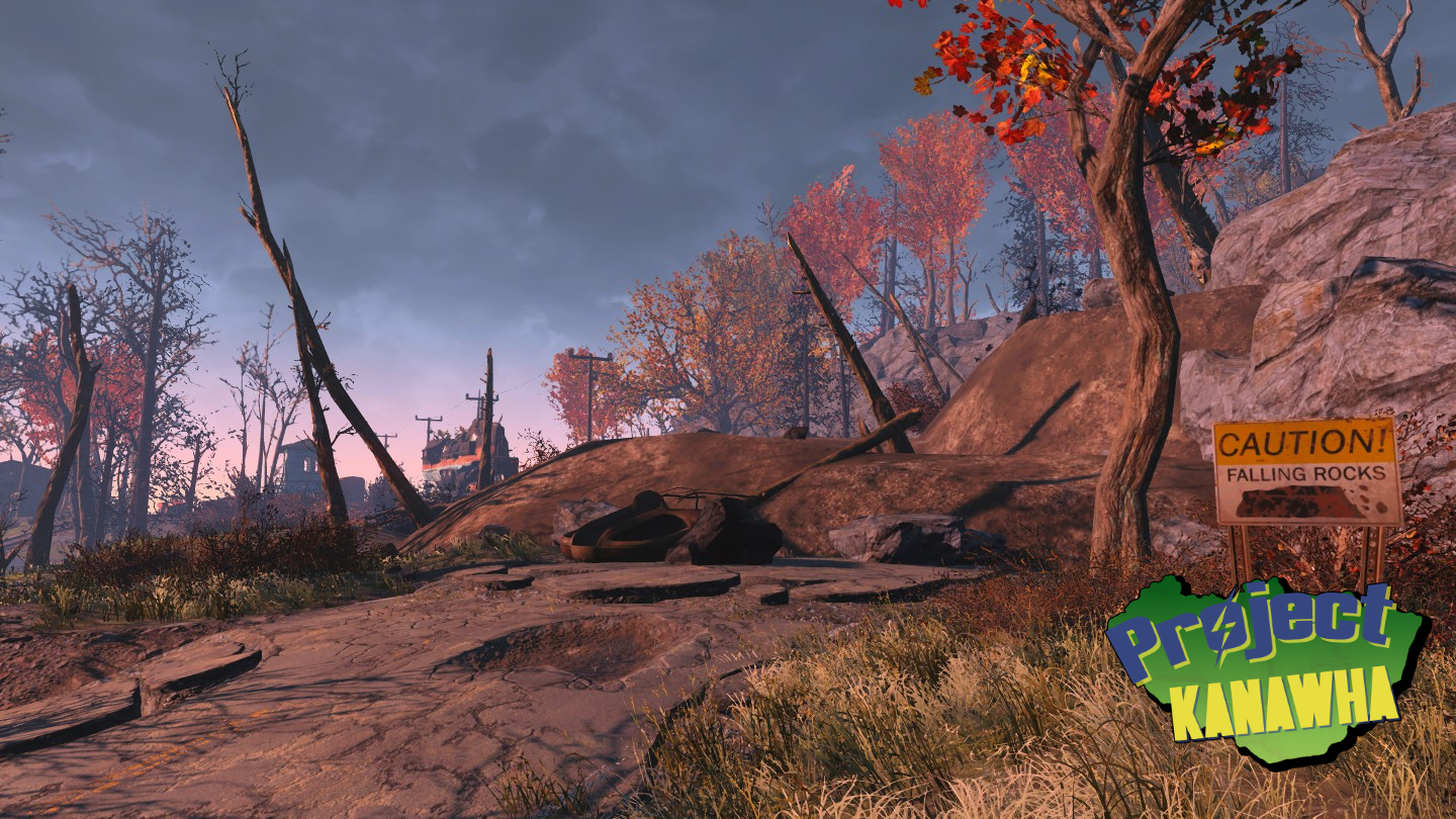 landslide - Fallout 4: Project Kanawha Showcase.