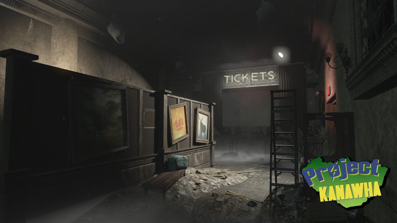world war interior - Fallout 4: Project Kanawha Showcase.
