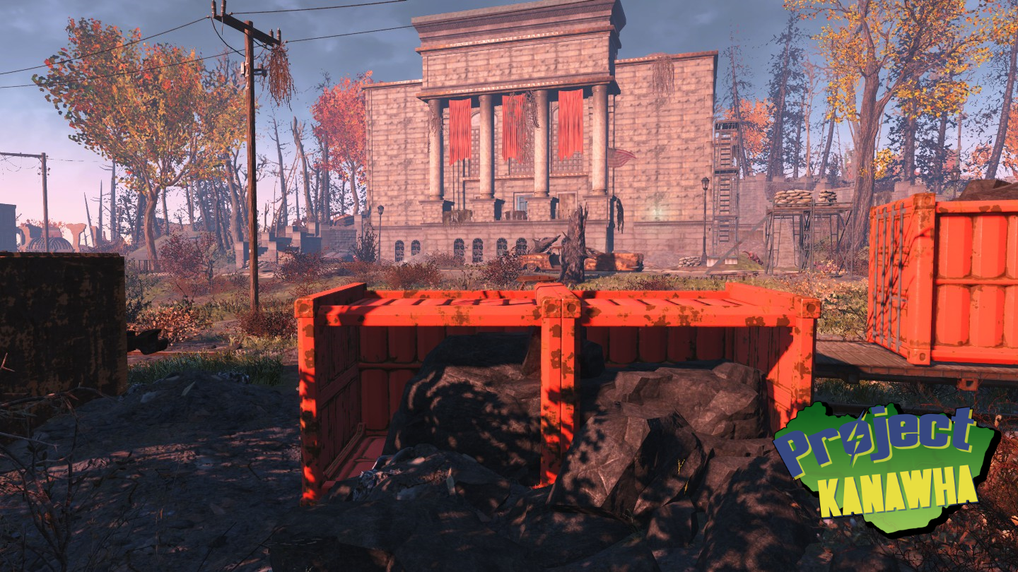 world war memorial - Fallout 4: Project Kanawha Showcase.