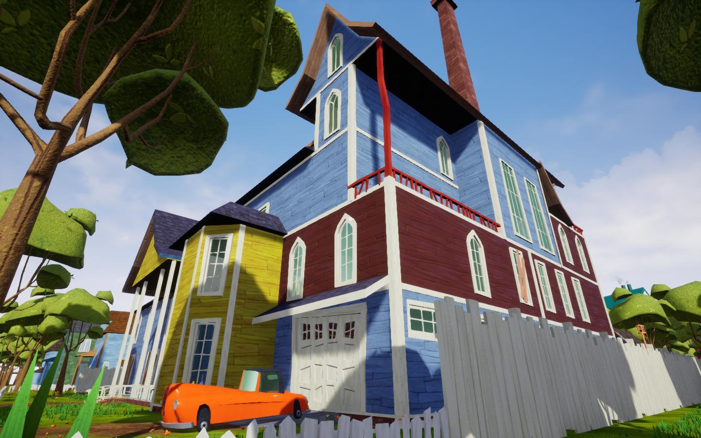 Image 2 Hello Neighbor Secret Neighbor House Mod