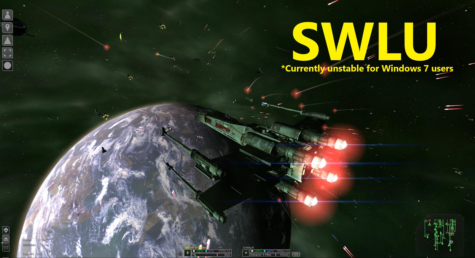 Star Wars LU (SWLU) mod for X³: Terran Conflict - Mod DB