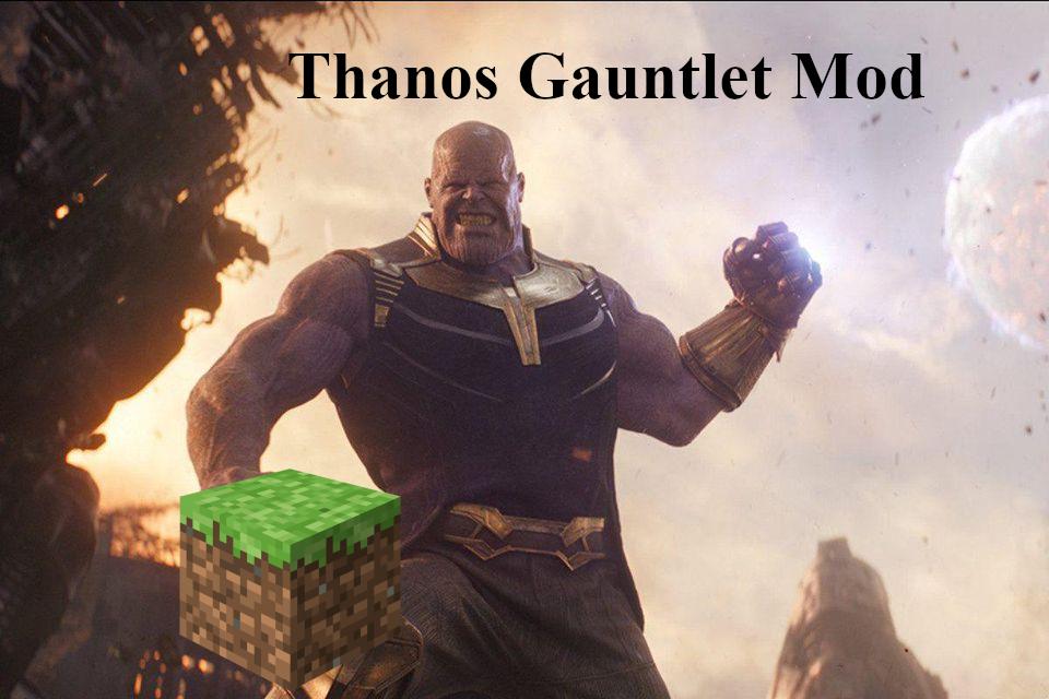 Infinity Gauntlet mod for Minecraft - Mod DB