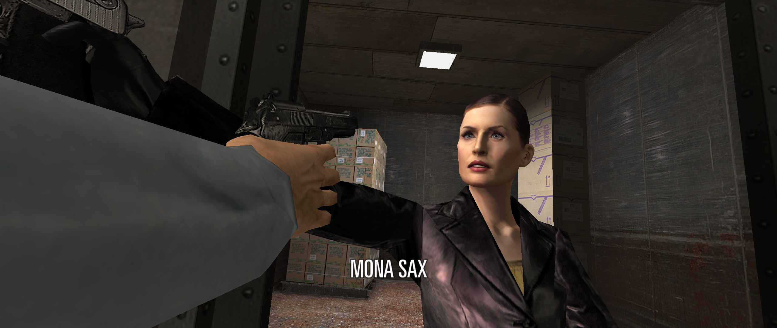Mona Sax With Mp1 Outfit Update Image Max Payne 2 The Fall Of
