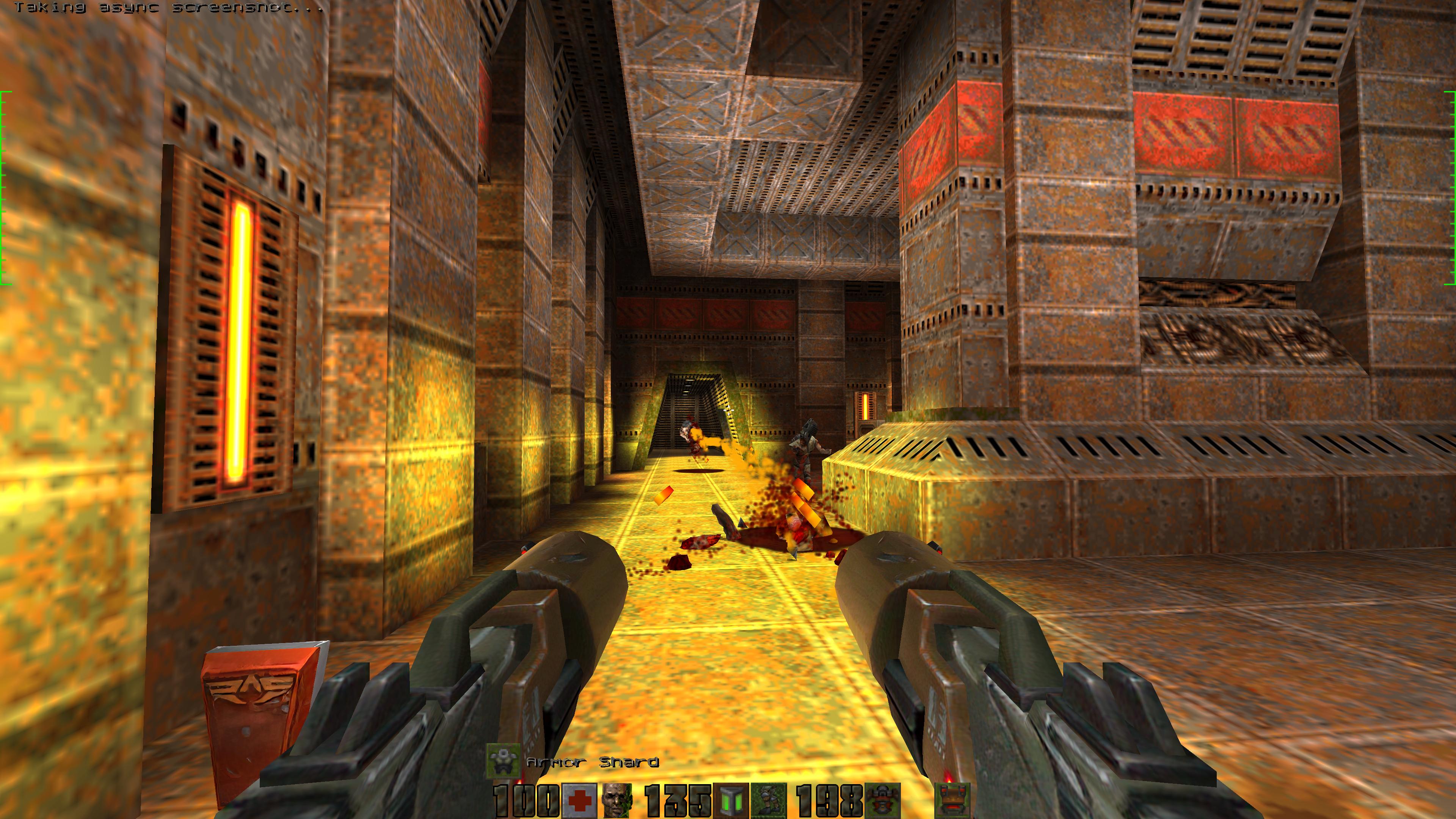 Dual Hyperblaster image - Rampage mod for Quake 2 - Mod DB