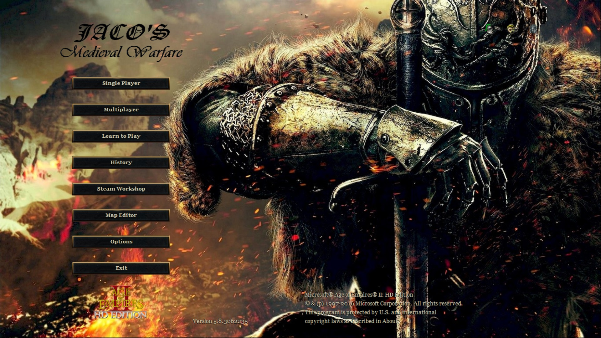 AOE II HD: Medieval Warfare mod for Age of Empires II HD