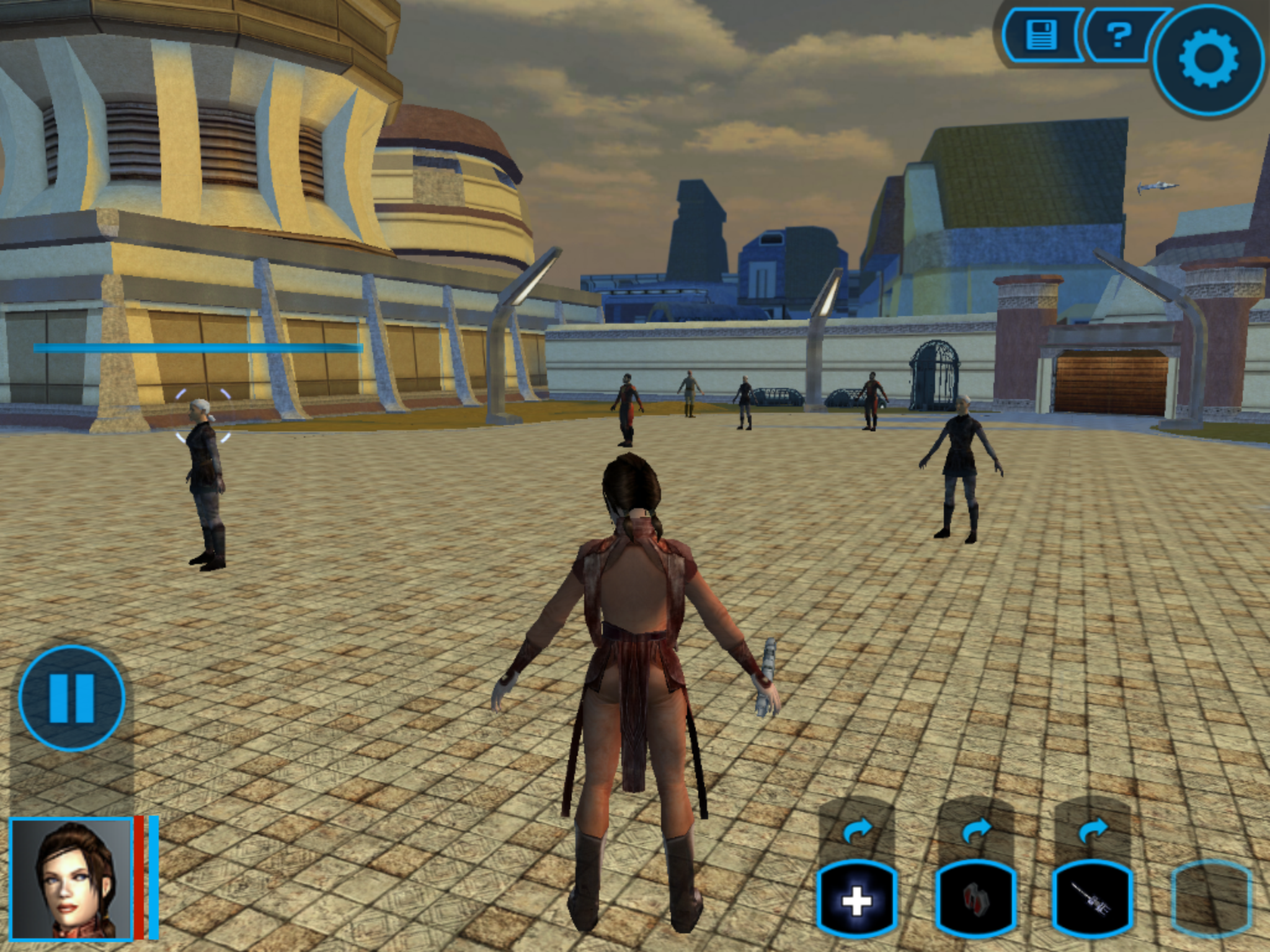 image 1 - KOTOR II Mobile (K2M) mod for Star Wars: Knights of the