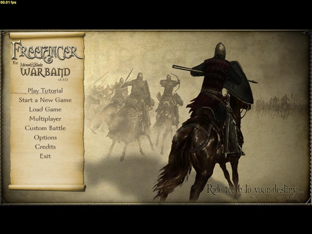 freelancer для mount and blade warband 1.168