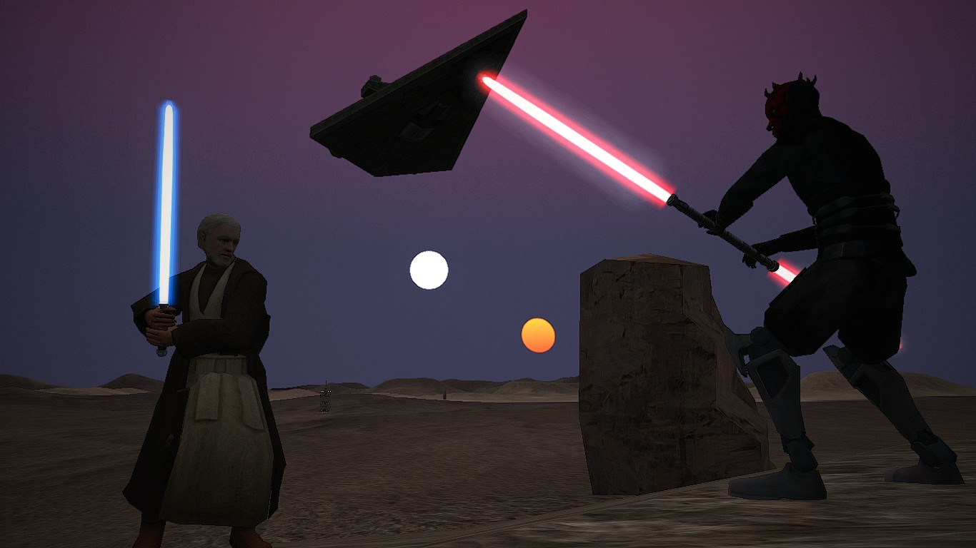 Binary Sunset Heros Gcw Image Darthsith S Battlefront 1