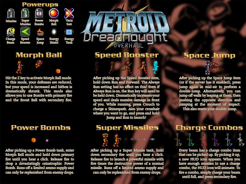 Image 1 - Metroid Dreadnought: Overhaul mod for Doom II - Mod DB