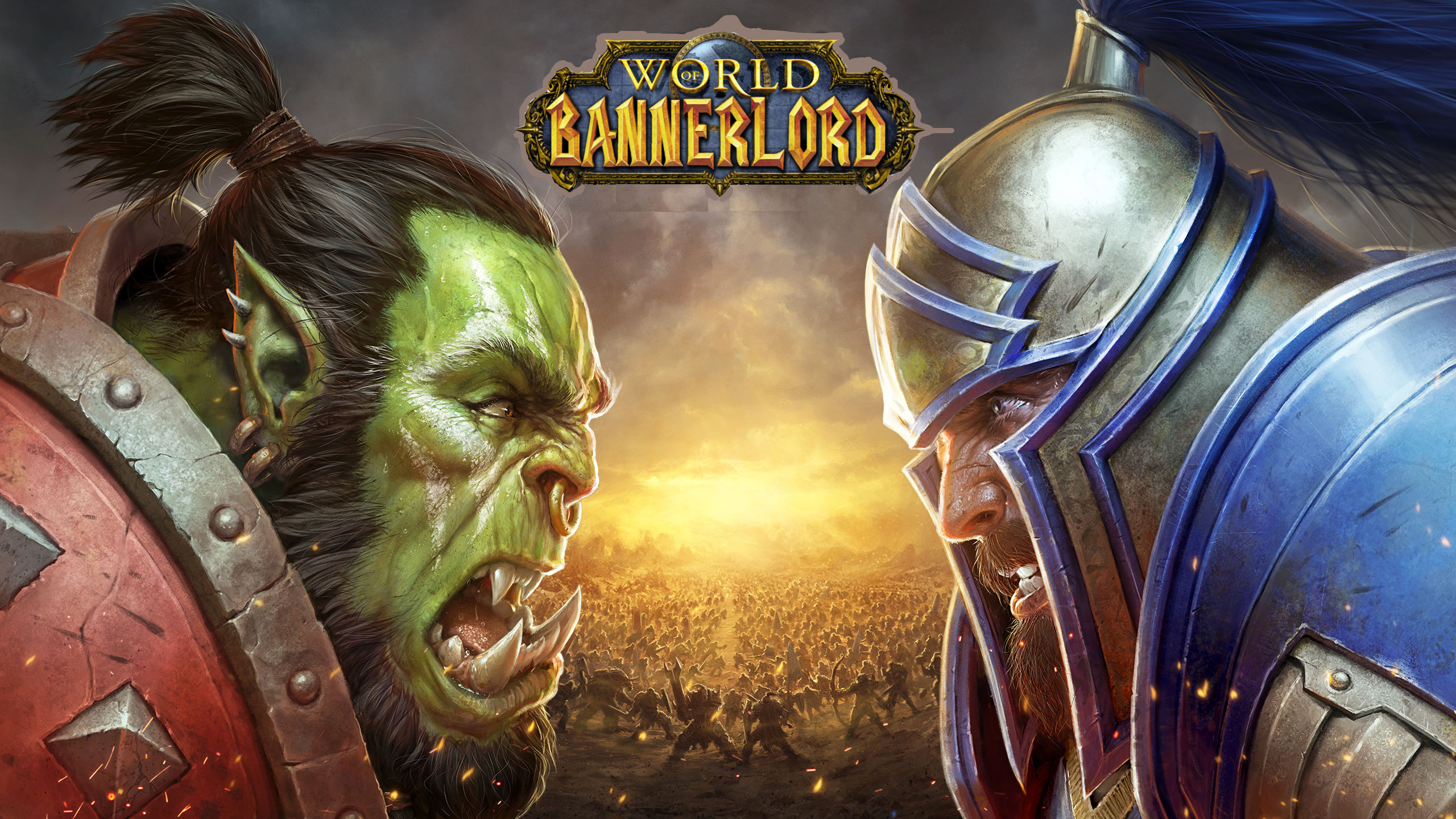 Orcs Vs Humans Image Mount Warcraft Mod For Mount Blade Ii Bannerlord Mod Db