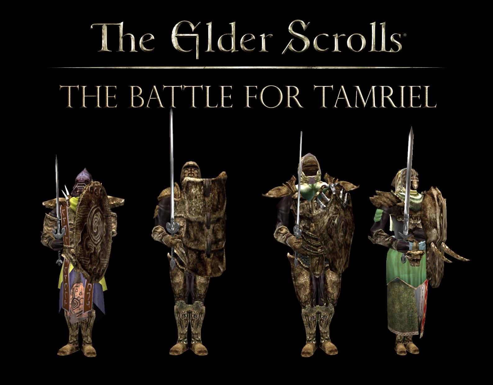 Un mod sur The Elder Scrolls The Battle For Tamriel