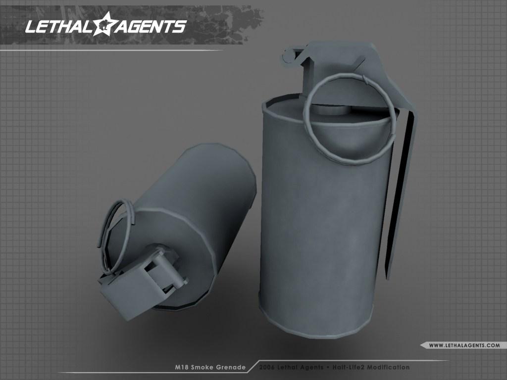 M18 Smoke Grenade image - Lethal*Agents mod for Half-Life 2