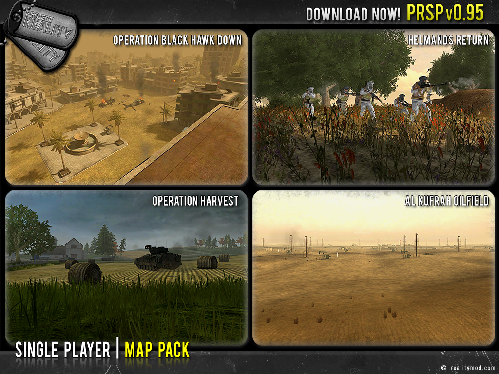Battlefield 2 single player map pack download