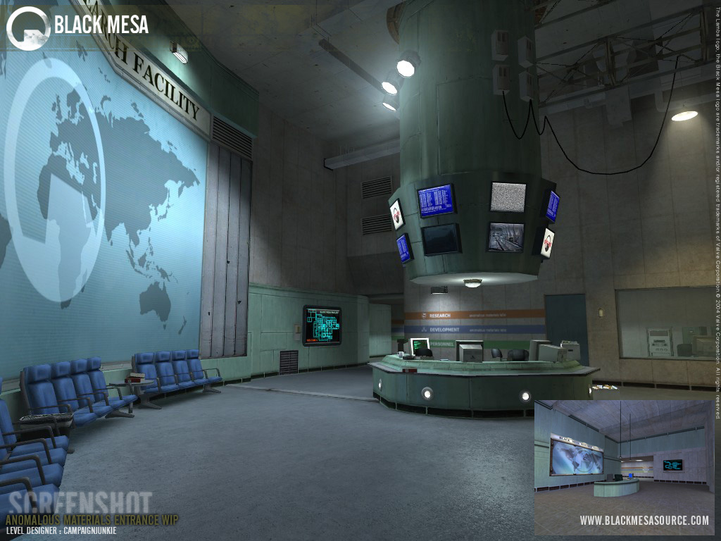 Anomalous materials image black mesa mod for half life 2 for Operation black mesa download