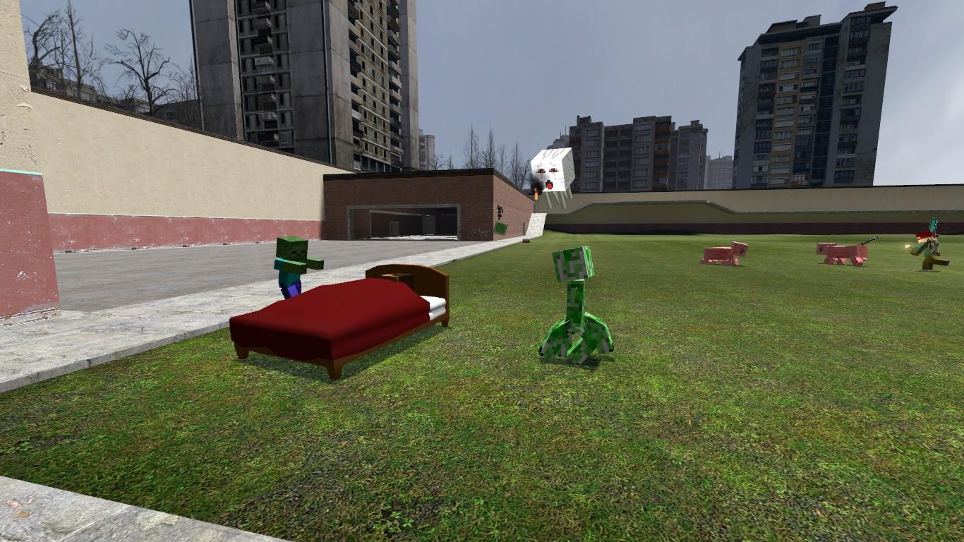 gmod minecraft random image garrys mod for half life 2. Black Bedroom Furniture Sets. Home Design Ideas