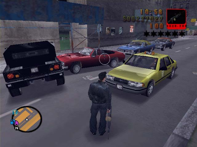 Action Shot 2 image - Max Payne Mod for Grand Theft Auto III - Mod DB