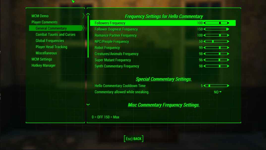 Player Comments and Head Tracking mod for Fallout 4 - Mod DB